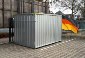 Materialcontainer / Lagercontainer 1,10m x 2,10m x 2,10m