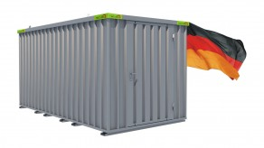Materialcontainer / Lagercontainer 4,10m x 2,10m x 2,10m