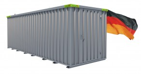 Materialcontainer / Lagercontainer 6,10m x 2,10m x 2,10m